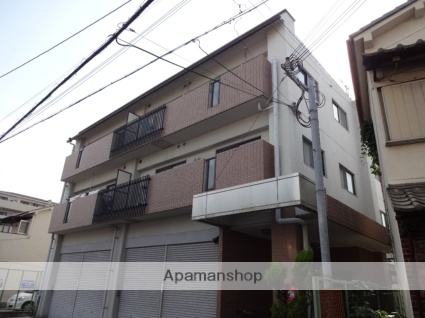 大阪府東大阪市、JR河内永和駅徒歩3分の築25年 3階建の賃貸マンション