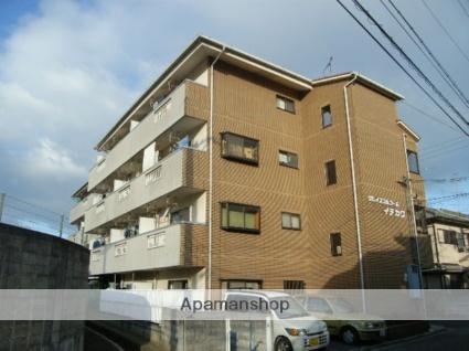 大阪府羽曳野市、古市駅徒歩15分の築23年 4階建の賃貸マンション