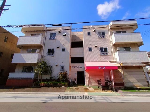 大阪府八尾市、河内山本駅徒歩10分の築32年 3階建の賃貸マンション