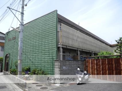 大阪府松原市、高見ノ里駅徒歩18分の築40年 2階建の賃貸アパート