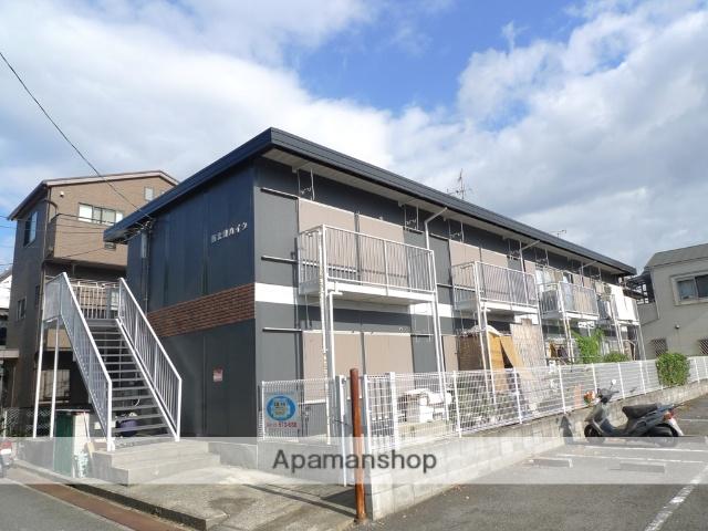 大阪府堺市中区、白鷺駅徒歩24分の築40年 2階建の賃貸アパート