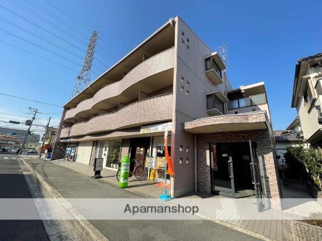 大阪府堺市中区、白鷺駅徒歩29分の築23年 3階建の賃貸マンション