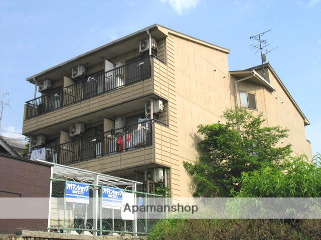 大阪府八尾市、服部川駅徒歩24分の築25年 3階建の賃貸マンション