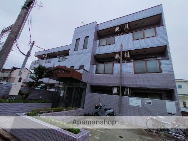 大阪府八尾市、志紀駅徒歩20分の築23年 3階建の賃貸マンション