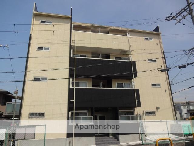大阪府松原市、矢田駅徒歩20分の新築 4階建の賃貸マンション
