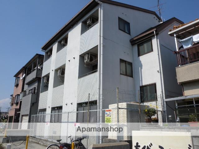 大阪府羽曳野市、恵我ノ荘駅徒歩6分の築25年 3階建の賃貸アパート