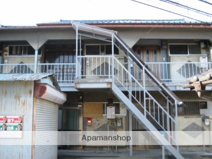 大阪府松原市、高見ノ里駅徒歩14分の築52年 2階建の賃貸アパート