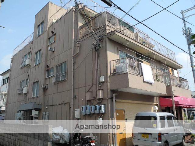 大阪府羽曳野市、河内松原駅徒歩19分の築41年 3階建の賃貸マンション