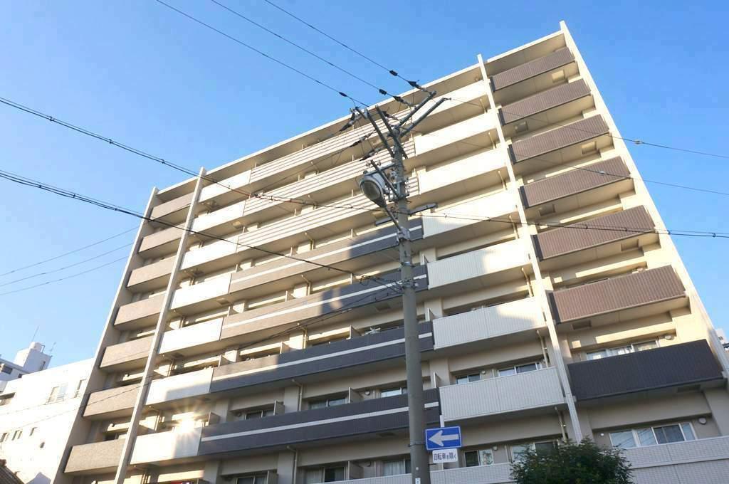 大阪府大阪市城東区、関目駅徒歩2分の築6年 9階建の賃貸マンション