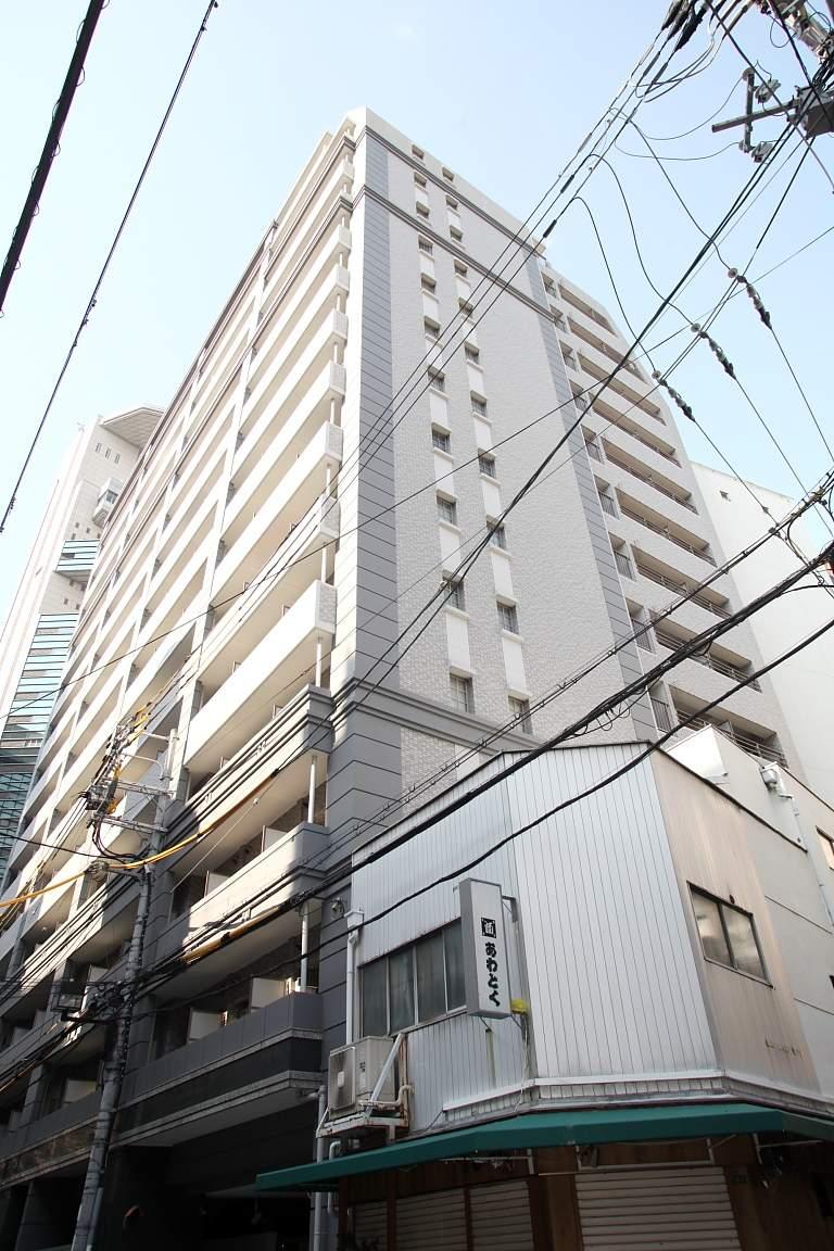 大阪府大阪市北区、北新地駅徒歩4分の築13年 15階建の賃貸マンション