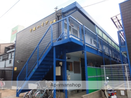 大阪府大阪市都島区、野江内代駅徒歩35分の築40年 2階建の賃貸マンション