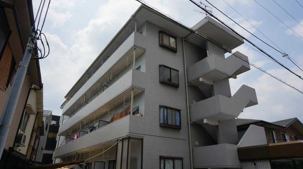 大阪府大阪市鶴見区、徳庵駅徒歩14分の築26年 4階建の賃貸マンション