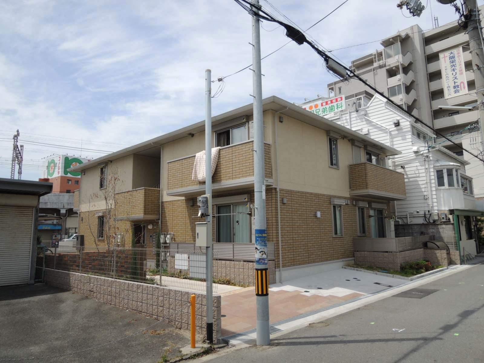 大阪府大阪市城東区、鴫野駅徒歩2分の築3年 2階建の賃貸アパート