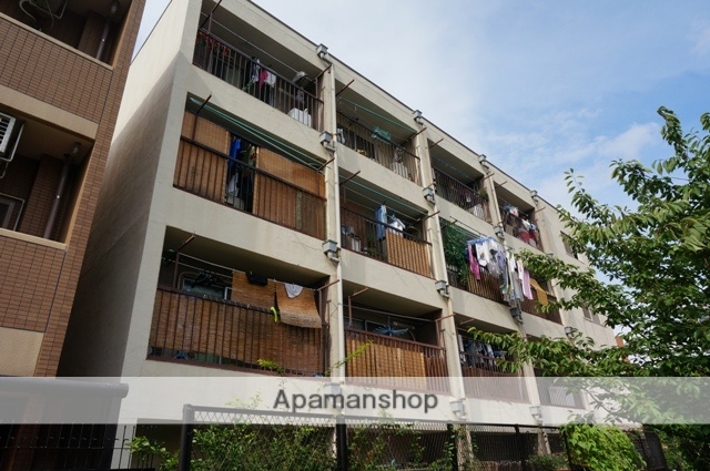 大阪府大阪市都島区、京橋駅徒歩5分の築36年 4階建の賃貸マンション