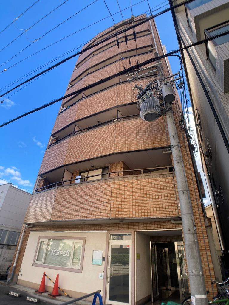 大阪府大阪市都島区、関目高殿駅徒歩13分の築19年 7階建の賃貸マンション