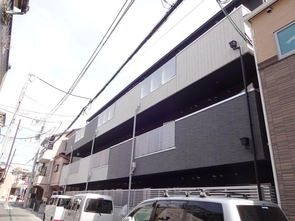 大阪府大阪市旭区、滝井駅徒歩6分の新築 3階建の賃貸アパート