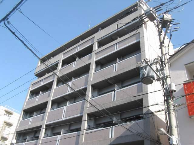 大阪府大阪市城東区、今福鶴見駅徒歩15分の築25年 7階建の賃貸マンション