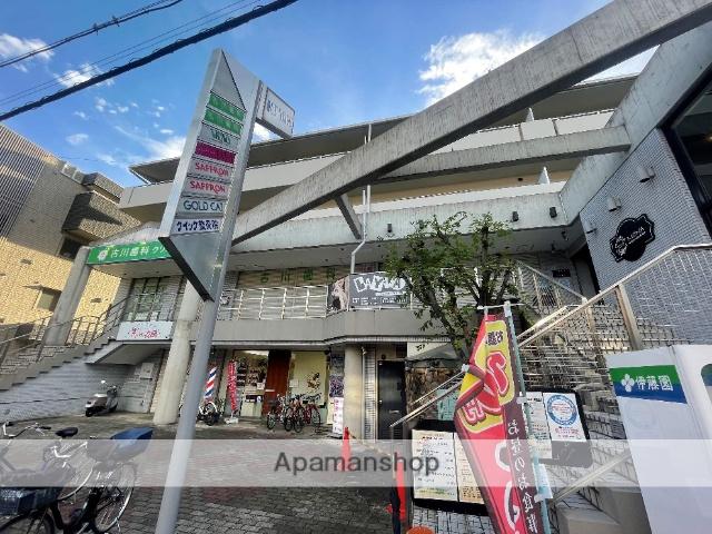 大阪府東大阪市、瓢箪山駅徒歩4分の築28年 4階建の賃貸マンション