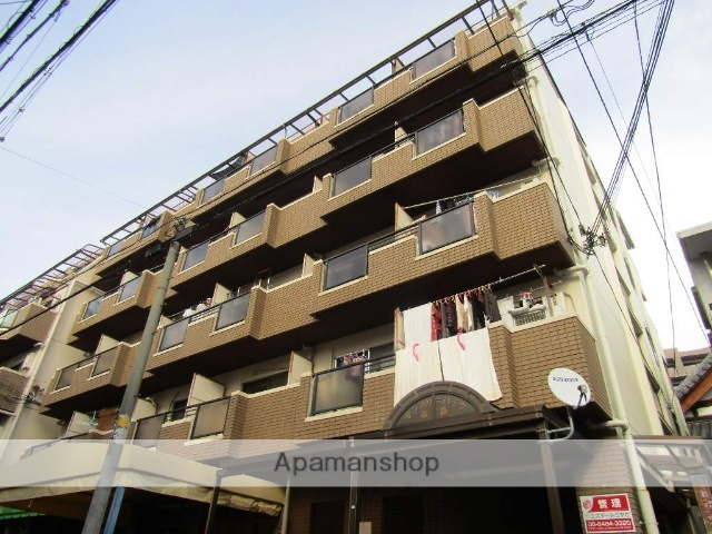 大阪府東大阪市、布施駅徒歩7分の築28年 5階建の賃貸マンション