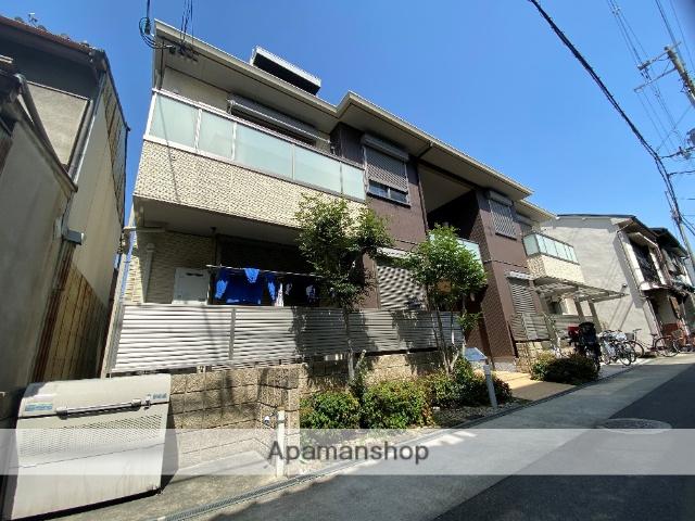 大阪府東大阪市、JR河内永和駅徒歩8分の築2年 2階建の賃貸アパート