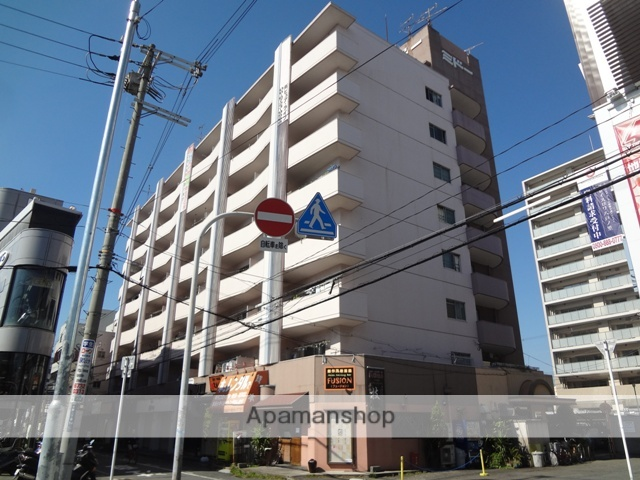 大阪府東大阪市、河内永和駅徒歩17分の築39年 8階建の賃貸マンション