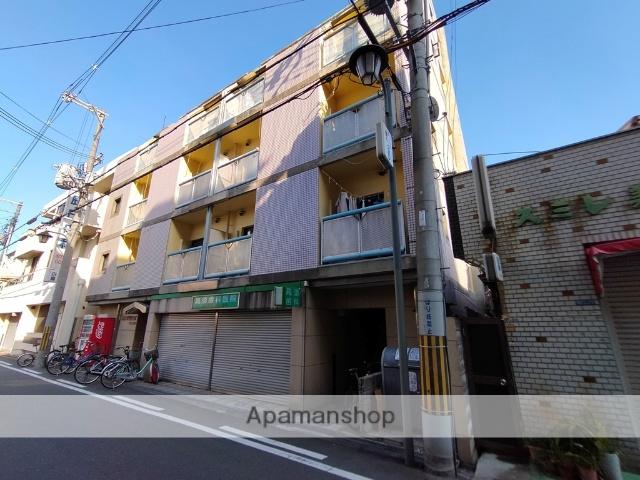大阪府東大阪市、JR長瀬駅徒歩10分の築25年 6階建の賃貸マンション