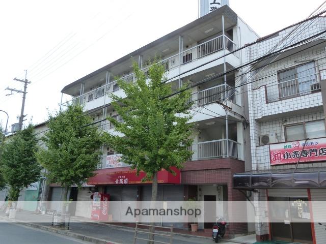 大阪府八尾市、長原駅徒歩21分の築38年 4階建の賃貸マンション