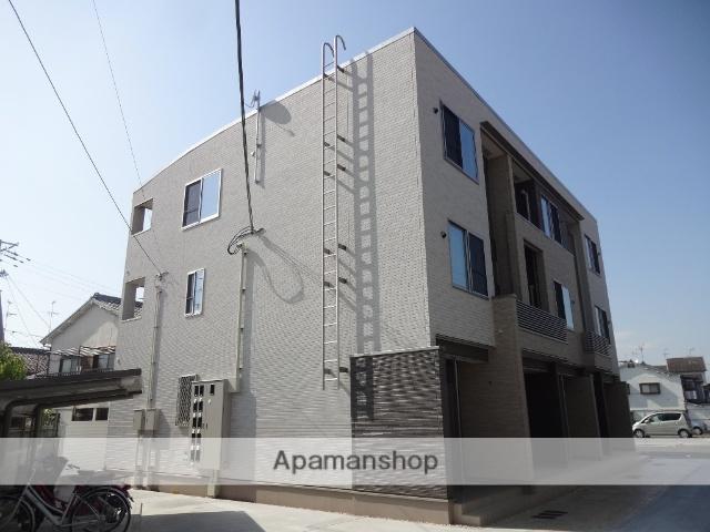 大阪府東大阪市、長瀬駅徒歩19分の築1年 3階建の賃貸アパート