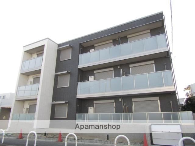 大阪府東大阪市、JR長瀬駅徒歩6分の新築 3階建の賃貸マンション