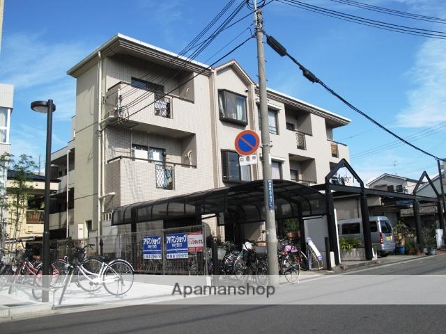 大阪府東大阪市、JR長瀬駅徒歩7分の築27年 3階建の賃貸マンション