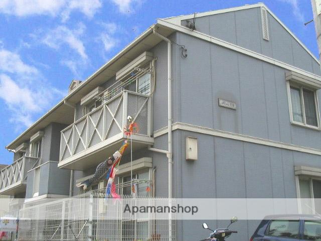 大阪府東大阪市、高井田中央駅徒歩10分の築20年 2階建の賃貸アパート