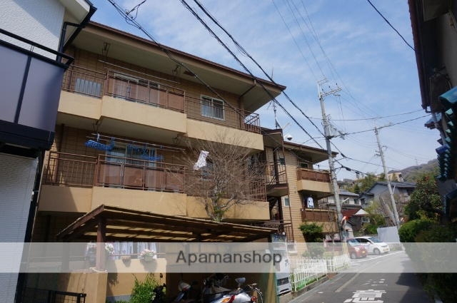 大阪府東大阪市、額田駅徒歩13分の築28年 3階建の賃貸マンション
