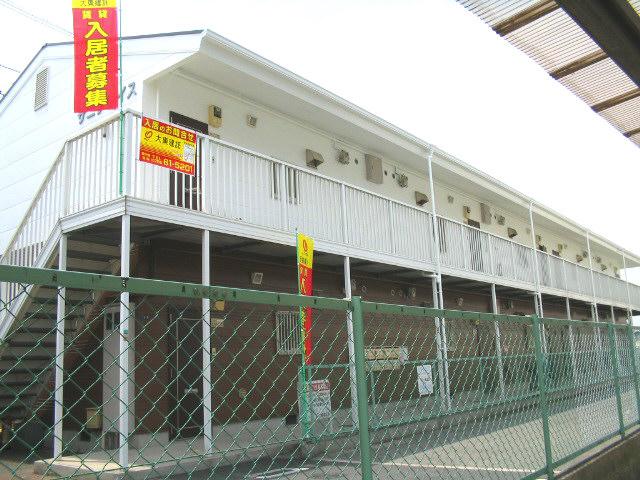 大阪府東大阪市、枚岡駅徒歩18分の築22年 2階建の賃貸アパート