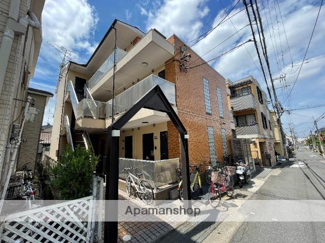 大阪府東大阪市、瓢箪山駅徒歩6分の築24年 3階建の賃貸マンション