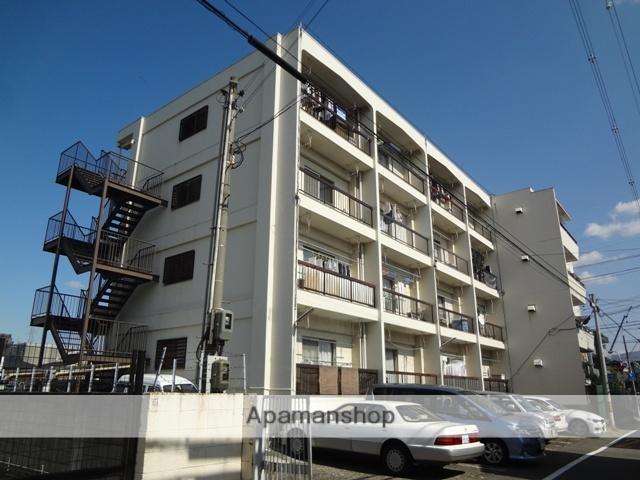 大阪府東大阪市、河内永和駅徒歩23分の築46年 4階建の賃貸マンション