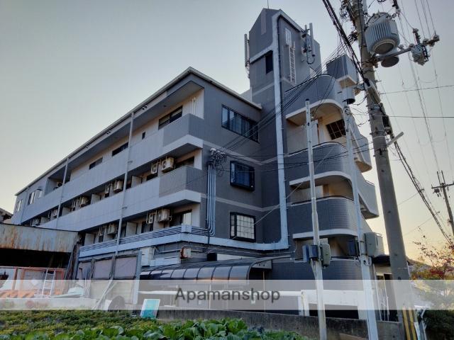 大阪府八尾市、服部川駅徒歩7分の築25年 4階建の賃貸マンション