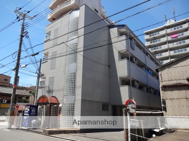 大阪府東大阪市、JR河内永和駅徒歩13分の築26年 4階建の賃貸マンション