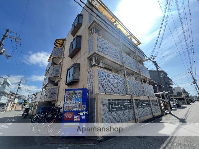大阪府東大阪市、若江岩田駅徒歩20分の築27年 4階建の賃貸マンション