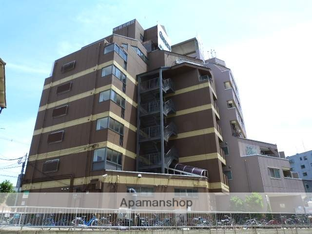大阪府東大阪市、長田駅徒歩16分の築25年 7階建の賃貸マンション
