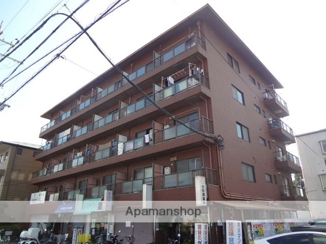 大阪府東大阪市、河内永和駅徒歩20分の築34年 5階建の賃貸マンション