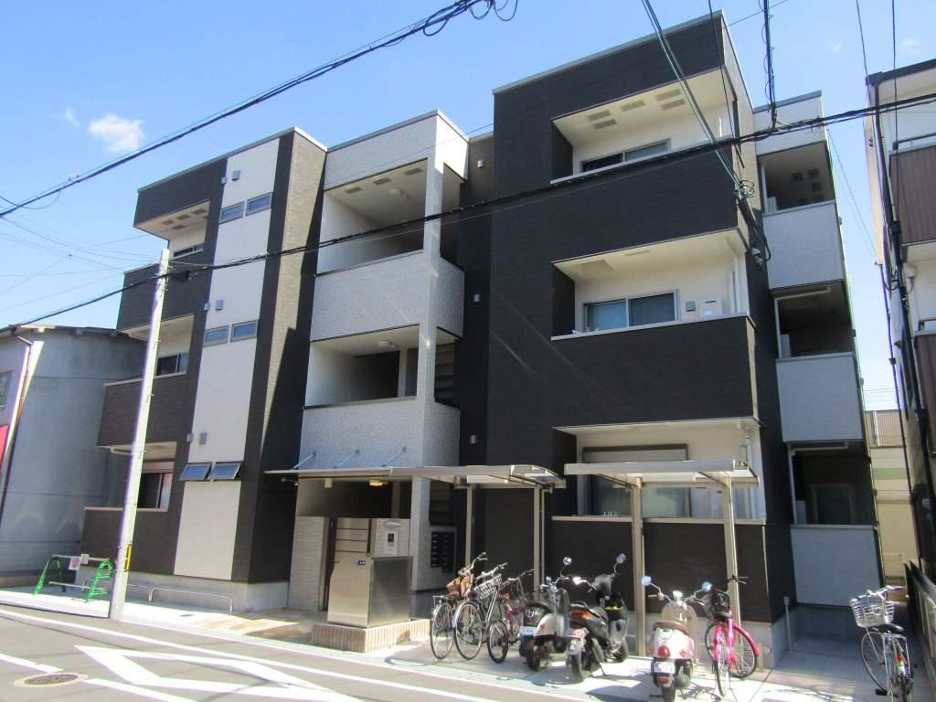 大阪府東大阪市、八戸ノ里駅徒歩23分の新築 3階建の賃貸アパート