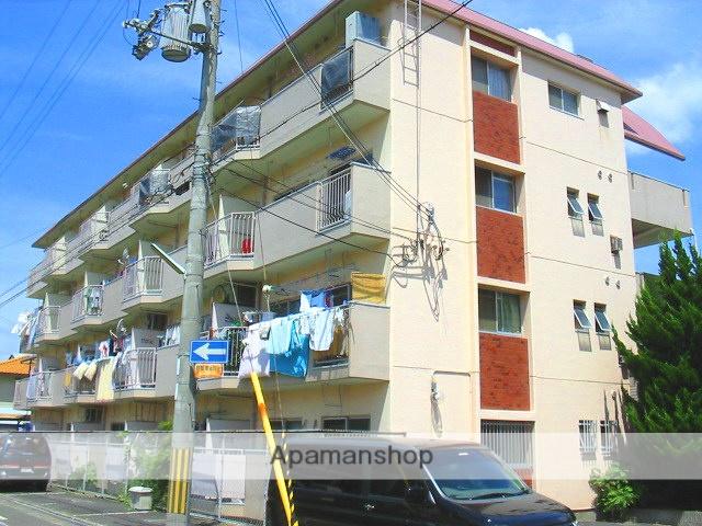 大阪府八尾市、久宝寺口駅徒歩24分の築37年 4階建の賃貸マンション