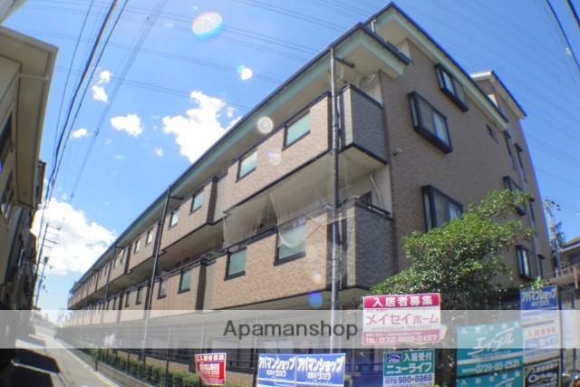 大阪府東大阪市、河内花園駅徒歩18分の築17年 4階建の賃貸マンション