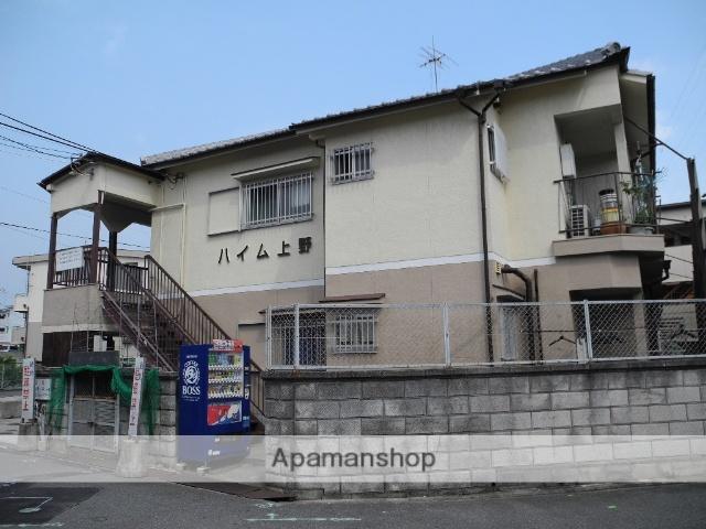 大阪府羽曳野市、恵我ノ荘駅徒歩13分の築43年 2階建の賃貸アパート