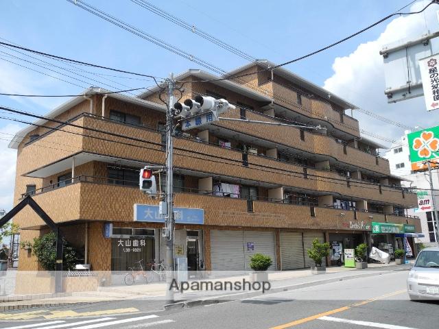 大阪府羽曳野市、河内松原駅徒歩19分の築28年 5階建の賃貸マンション