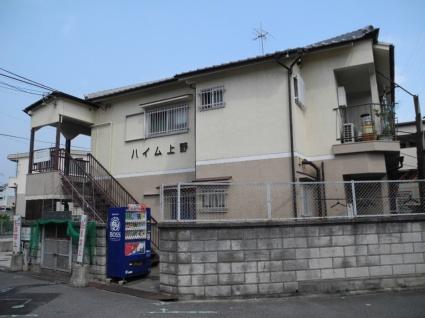 大阪府羽曳野市、恵我ノ荘駅徒歩13分の築42年 2階建の賃貸アパート