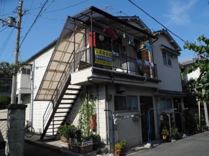 大阪府松原市、高見ノ里駅徒歩16分の築41年 2階建の賃貸アパート