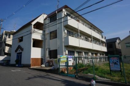 大阪府東大阪市、額田駅徒歩13分の築29年 3階建の賃貸マンション