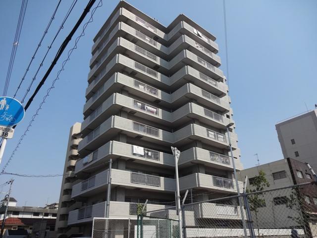 大阪府東大阪市、JR河内永和駅徒歩13分の築28年 11階建の賃貸マンション