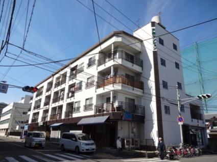 大阪府東大阪市、河内永和駅徒歩17分の築41年 4階建の賃貸マンション
